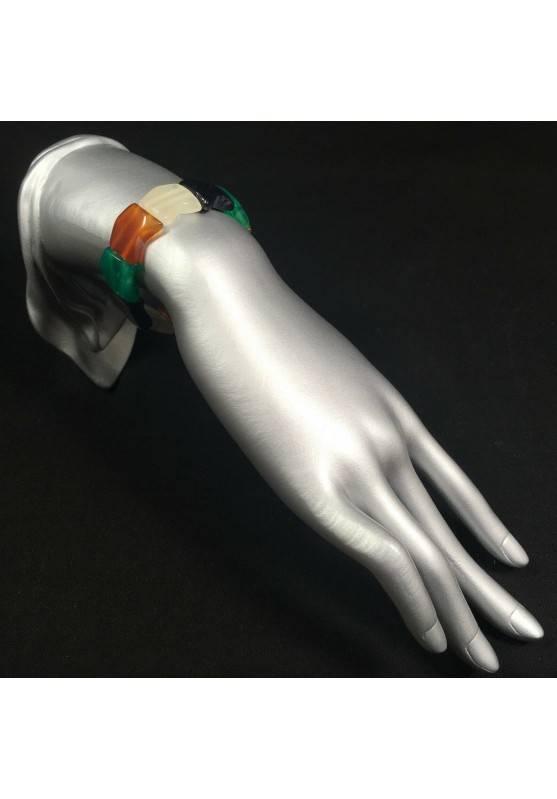 Bracelet in AGATE MIXED Bracelettto Crystal Healing LEO CANCER TAURUS Zen A+-2