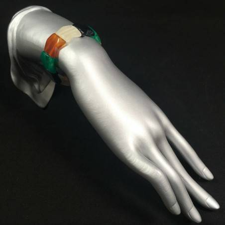 Bracciale in AGATE MISTE Braccialetto Cristalloterapia Leone Cancro Toro Zen A+-2