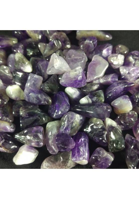 Mignon Tumble AMETHYST 250g High Quality Tumbled MINERALS Crystal Healing-1