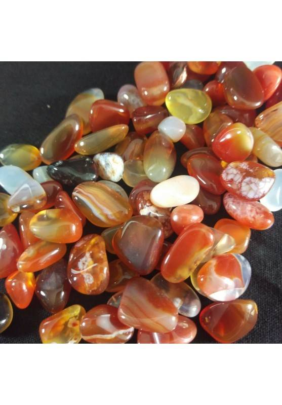 CARNELIAN Tumbled Stone Mignon 250g High Quality Thumb Stone MINERALS Crystal Healing-1