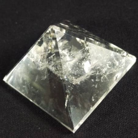 MINERALS * Natural Quartz PYRAMID 3,5 cm High Quality Rock Crystal-5