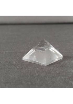 PYRAMID Hyaline Quartz Rock CRYSTAL PURE Point MINERALS Crystal Healing-6