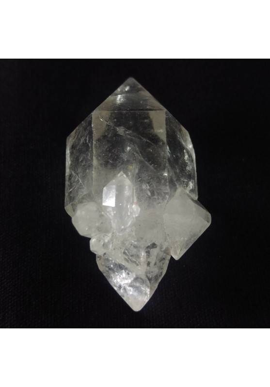 MINERALS * Double Terminated Herkimer Scepter Quartz CRYSTAL Point-2