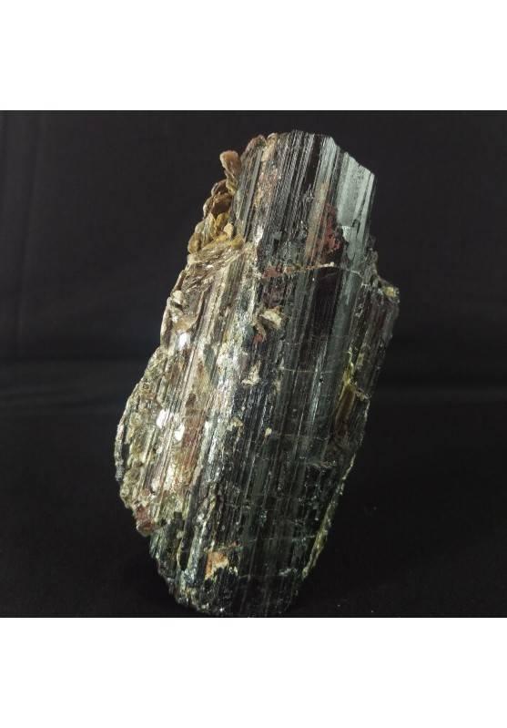 MINERALS * Wonderful Rough Tourmaline with MUSCOVITE BIG 467 Grams 120x63 mm-2