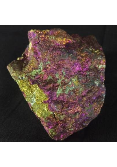 MINERALS * BIG Peacock Ore CHALCOPYRITE Crystal Rough Sulfur 350gr Specimen A+-1