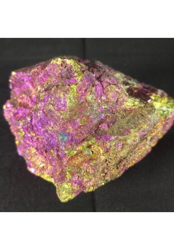 MINERALS * BIG Peacock Ore CHALCOPYRITE Crystal Rough Sulfur 350gr Specimen A+-2