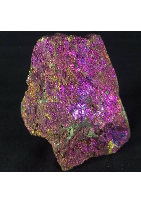 MINERALS * BIG Peacock Ore CHALCOPYRITE Crystal Rough Sulfur 350gr Specimen A+−3