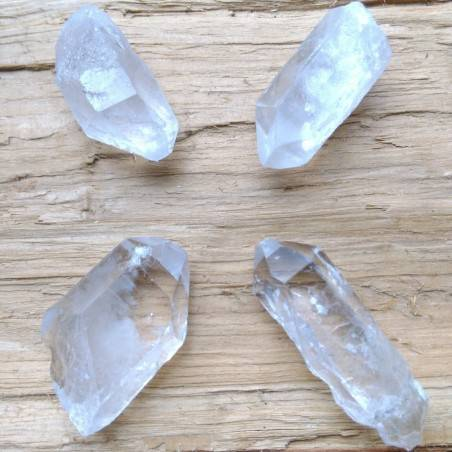 Hyaline Quartz Rock CRYSTAL Point MID Size Natural[Pay Only One Shipment]-1