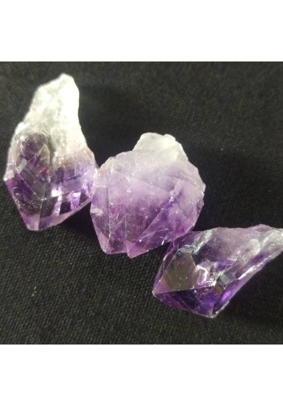 Ametista Punta Grezza Minerali Cristalloterapia [ Amethyst Point Rough Raw ]-2