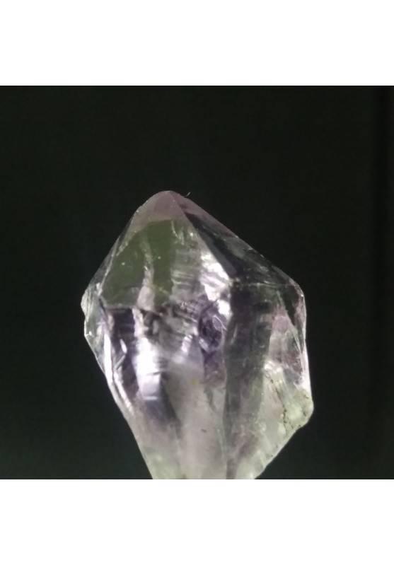 Ametista Uruguay Punta Grezza Cristallo Drusa Minerale Cristalloterapia Gioielli-3