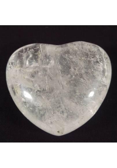 CUORE Quarzo Ialino GRANDE Minerale Cristalloterapia Massaggio AMORE Feng Shui-1