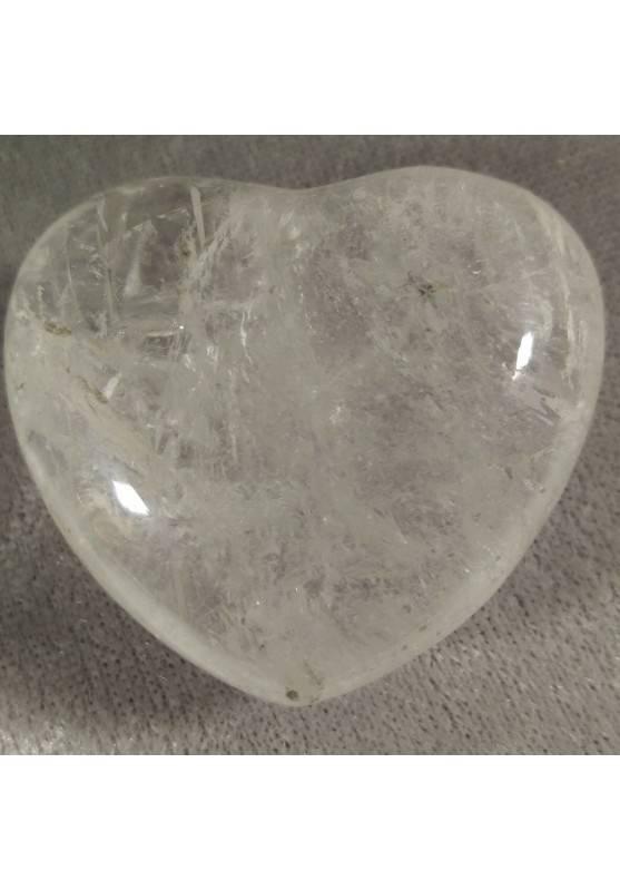 CUORE Quarzo Ialino GRANDE Minerale Cristalloterapia Massaggio AMORE Feng Shui-2