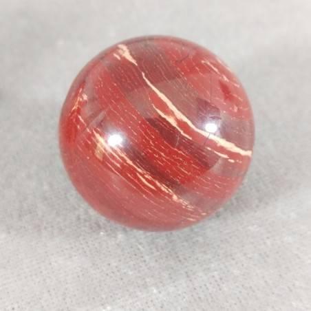 Sfera in Diaspro Rosso ARCOBALENO Cristalloterapia Massaggio Minerali Cristalli-2