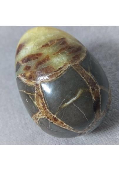 Uovo in Septaria Lavorata Cristalloterapia Cristalli Pasqua Ovale Minerali Reiki-1