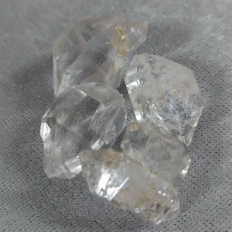 Diamante Herkimer Quarzo Puro EXTRA QUALITA' Biterminato Chakra Cristalloterapia-2