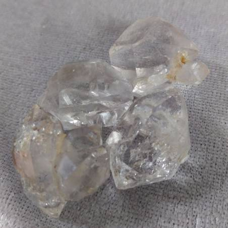 Diamante Herkimer Quarzo Puro EXTRA QUALITA' Biterminato Chakra Cristalloterapia-3