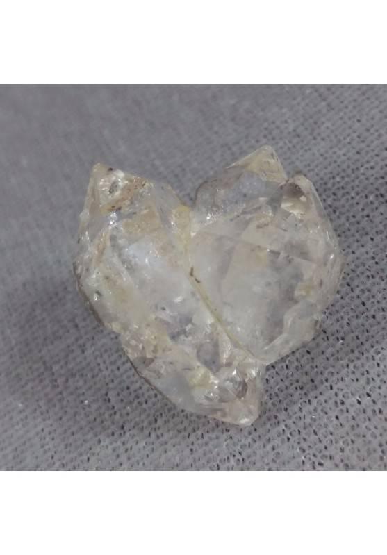 Diamante Herkimer Quarzo Puro EXTRA QUALITA' Biterminato Chakra Cristalloterapia-4