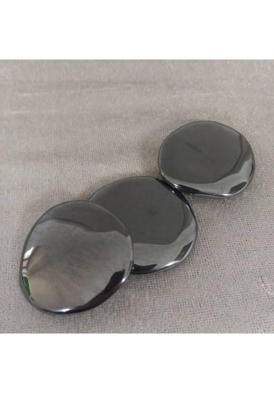 Piastra In Ematite Lucida ALTA QUALITA' Saponetta Minerali Cristalli Reiki Zen-2