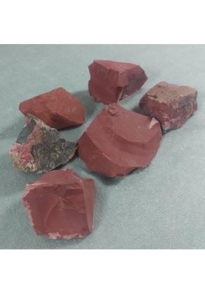DIASPRO ROSSO EXTRA Gr 31-40 Guerriera Minerali Burattati Cristalloterapia Chakr