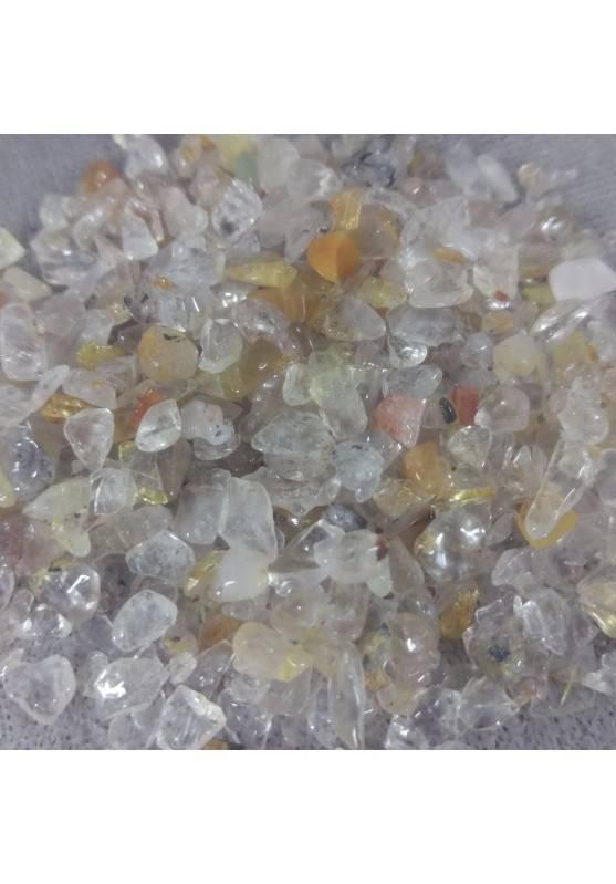 Micro Granules Quartz RUTILATED Tumbled 30Gr Crystal Healing Chakra Crystals Zen A+-1