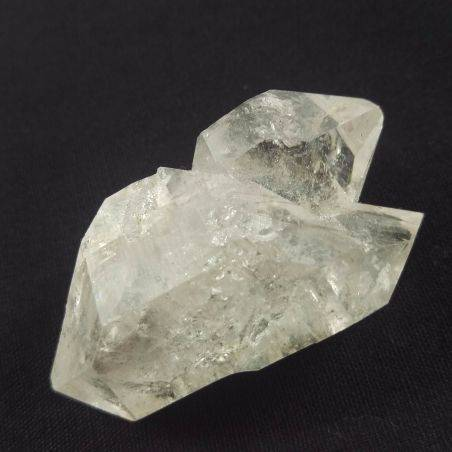 MINERALS * Herkimer Diamond Double Terminated Hyaline Quartz A+ 41gr-2