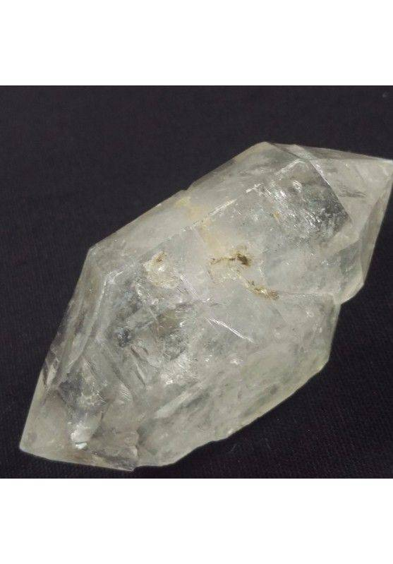 MINERALS * Herkimer Diamond Double Terminated Hyaline Quartz A+ 41gr−3