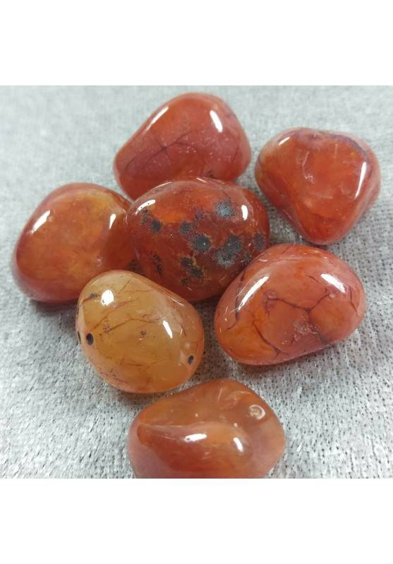 Red CARNELIAN Tumbled Stone Chakra MINERALS Crystal Gemstone Crystal Healing Reiki-1