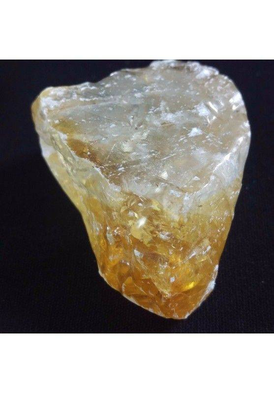 MINERALS * BIG Piece in Honey CALCITE Amber Color Miele Rough Crystals 75gr-1