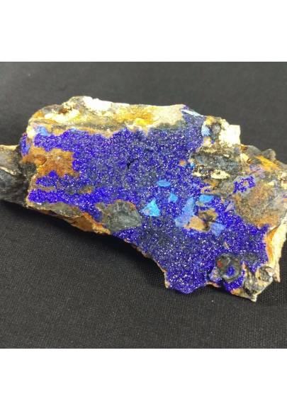 MINERALS * AZURITE Crystals on Matrix Specimen 4,1x7,9x1,7 cm 64 gr-1