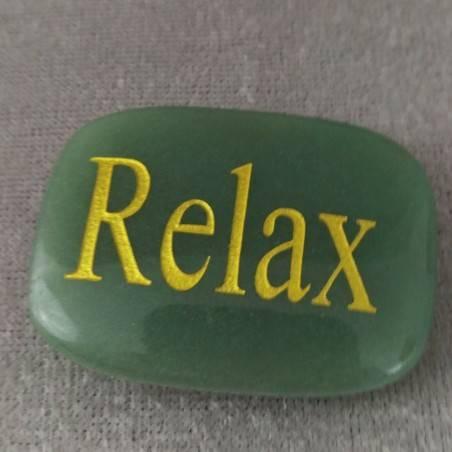 Palmstone of Relax in Green Aventurine Chakra Plate Crystal Healing MINERALS-2
