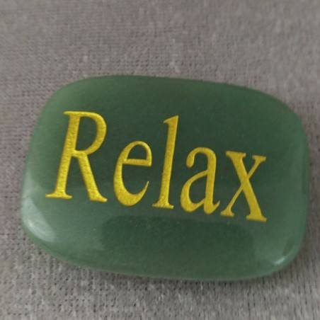 SAPONETTA del Relax d AVVENTURINA Verde Chakra Piastra Cristalloterapia Minerali-2