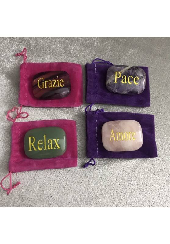Palmstone of Relax in Green Aventurine Chakra Plate Crystal Healing MINERALS−3