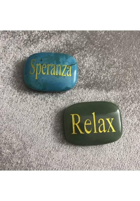 Palmstone of Relax in Green Aventurine Chakra Plate Crystal Healing MINERALS-4