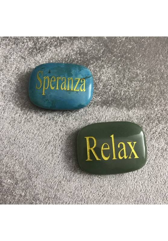 SAPONETTA del Relax d AVVENTURINA Verde Chakra Piastra Cristalloterapia Minerali-4