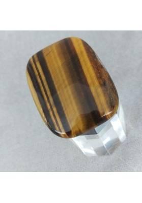 Palmstone della RICHNESS in TIGER'S EYE Crystal Healing Plate Gift Idea Zen-6