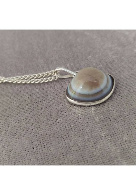Pendant in Buddha Eye's Clear AGATE Necklace Crystal Healing Chakra Reiki-4